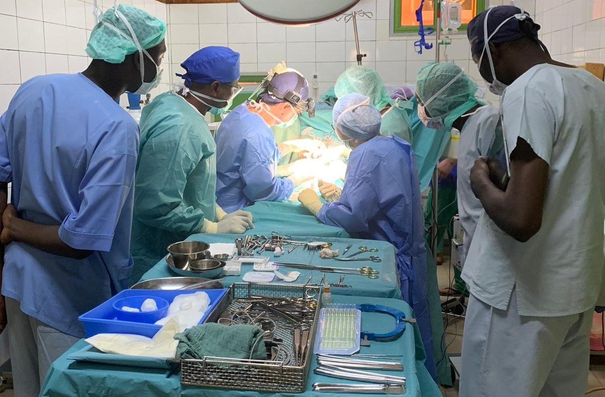 medifa supports healthcare provision in Africa