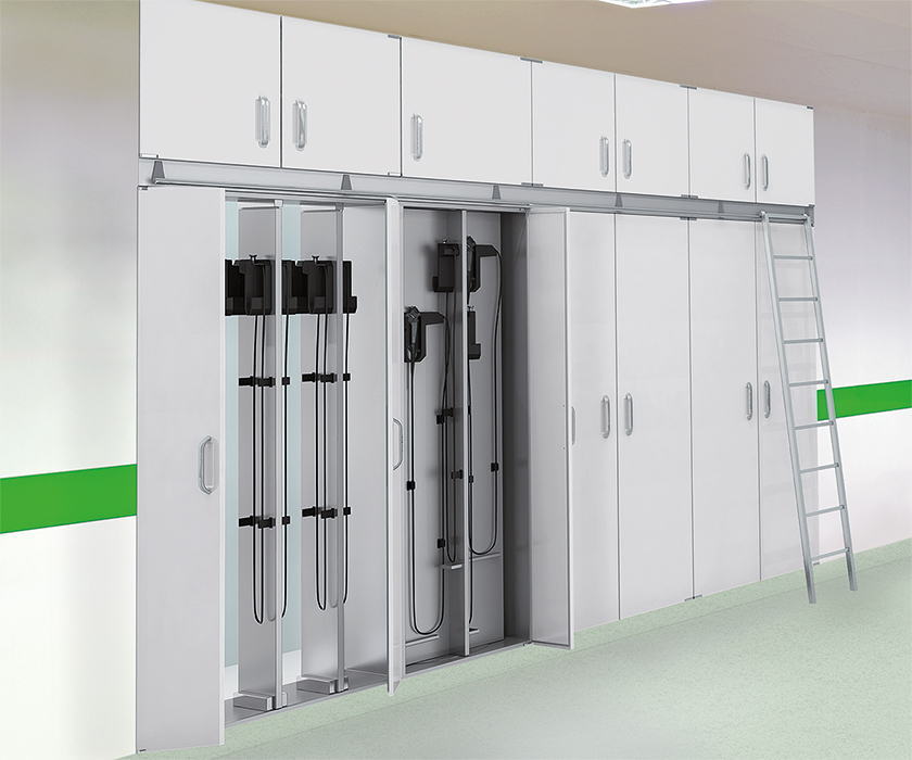 flush-mounted cabinet