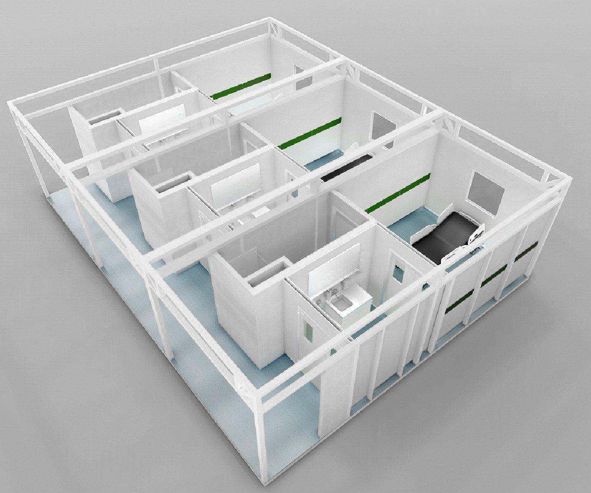 RooSy Cube Isolation Ward