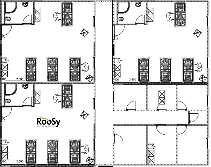 RooSy Patient Ward quer