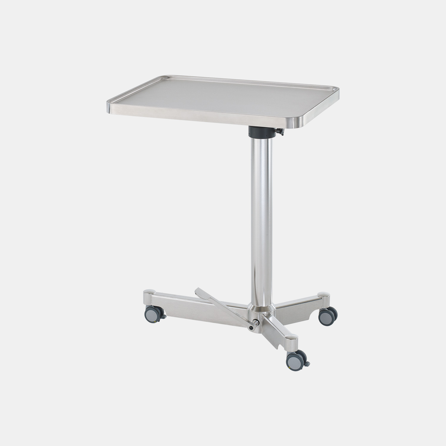 Hydraulic pump mayo instrument table