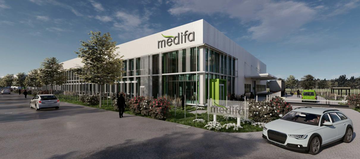 Kick-off for new medifa location in Baden Baden